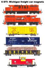 Detroit Toledo & Ironton Freight Train 6 magnets Andy Fletcher