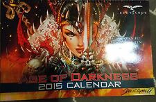 Zenescope 2015 Age Of Darkness Calendar signed by Jamie Tyndall
