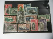 CEYLON KGVI 1938 Set of 13 Stamps USED - Ref#1