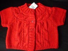 Girls Short Sleeve  Red Cardigan by  Designer Girandola  Age 6 years bnwt