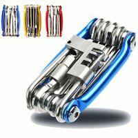 Screwdriver Set Multifunction Tool 15 In 1 Bike Bicycle Wrench Repair Tool Kit