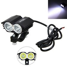 30W Motorcycle Spot Light 2x XM-L T6 LED Driving Headlight Fog Driving Lamp
