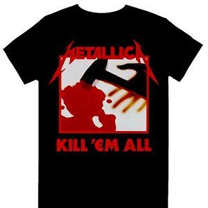 Metallica - Kill 'Em All Tracks Official Licensed T-Shirt
