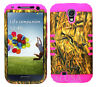 KoolKase Hybrid Silicone Cover Case for Samsung Galaxy S4 i9500 Camo Mossy Duck