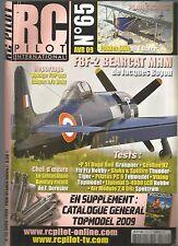 RC PILOT N°65 PLAN : FOKKER DVII / F8F-2 BEARCAT MHM / P 51 DAGO RED / GEEBEE R2