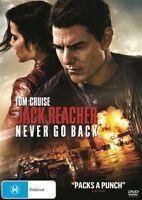 Jack Reacher - Never Go Back (DVD, 2017) NEW
