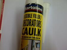 Decorators Caulk Filler Flexible Filler White Cartridge