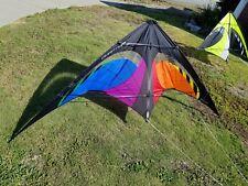 Prism Quantum Sport Kite - Surf City Special Edition - Black Rainbow