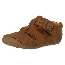 Sandales beiges en cuir pour garçon de 2 à 16 ans