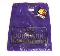John Son Premium Quality Purple T-Shirt 5XL 100% Cotton Piranha Records