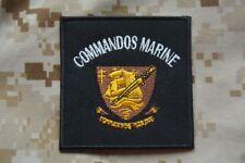 Z045 écusson patch insigne badge armée militaire Commando Marine militaria tissu