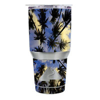 Skin Decal for Ozark Trail 30 oz Tumbler Cup (6-piece kit) / Palm trees Miami S