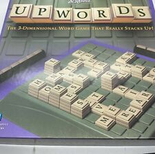 Scrabble Upwords 2002 3D Word Stacking Game Parker Brothers