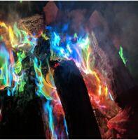 10g/15g/25g magique feu coloré flamme poudre fire Sachets pyrotechnique CHEMINéE