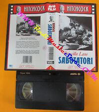 VHS film SABOTATORI Priscilla Lane Alfred Hitchkock AVO FILM 2 (F152) no dvd