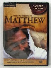 NEW The Gospel According to Matthew DVD Word for Word Bruce Marchiano Christian