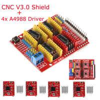 3D Printer CNC Shield V3 Engraver Expansion Board + 4x A4988 Driver Module top