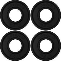 """Cast Iron Olympic Fraction Weight Plates 4 x 0.5kg │ 2"""" Low Weights by BodyRip"""