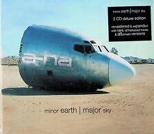 A-HA -Minor Earth, Major Sky -Deluxe Edition 2-CD (NEW) 2019 (Live/Rare Tracks)