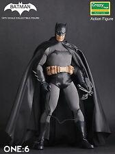 1/6TH Crazy Toys BATMAN VS SUPERMAN Black Batman Collectible Figure1