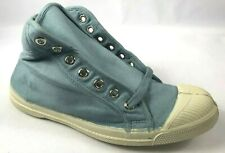 New In Original Packaging Bensimon Canvas Hi-Top Tennis  Shoes Sky. Blue