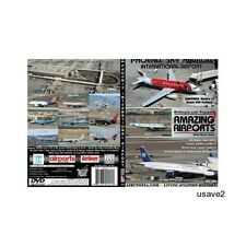 Airutopia Phoenix Airport Aircraft Airline Aviation DVD Video-Brand New