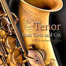 SAX-TENOR PLATINUM Collection - HUGE Sound Library and Production tools 2,62GB