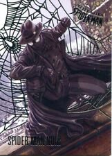 Spiderman Fleer Ultra 2017 Silver Parallel Base Card #82 Spider-Man Noir