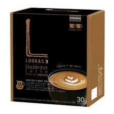 30 Sticks Korean Instant Coffee FRENCHCAFE Lookas nine Double shot Latte 447g