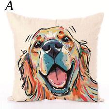 Golden Retriever Dog Cushion Cover Throw Pillow  45x45cm 18inch