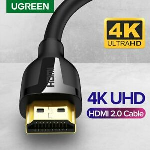 Ugreen HDMI 2.0 Cable 4K@60Hz 3D Effect Video Audio Cable Cord for Apple TV PS4