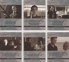 "James Bond Complete - ""Quotable Casino Royale"" Set of 6 Chase Cards #Q1-6"