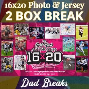DALLAS COWBOYS signed Gold Rush 16x20 photo + autographed jersey: 2 BOX BREAK