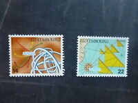 1994 LUXEMBOURG DISCOVERIES SET 2 MINT STAMPS MNH