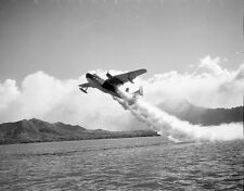 "Take off of PBM Mariner Seaplane jet assisted 8""x 10"" World War II Photo 340"