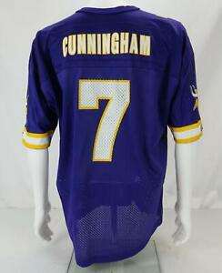 Champion Randall Cunningham #7 Minnesota Vikings NFL Jersey Purple Men's 48