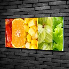 Leinwandbild Kunst-Druck 100x50 Bilder Essen /& Getränke Obst Honig