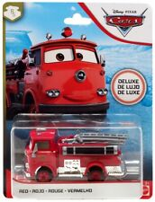 New DISNEY PIXAR CARS Deluxe RED Fire Engine Truck USA Seller