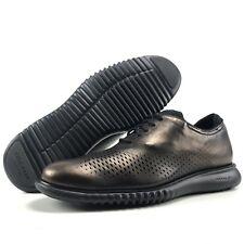 Cole Haan 2.Zerogrand Laser Wing Oxford Men's Size 9.5 US Bronze Metallic Black