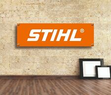 Stihl Tools  Sign Vinyl Banner Flag  Garage Workshop Adversting Many Size