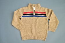 NWT Gymboree Boys Size S (5-6) STRIPE PULLOVER SWEATER Winter Fall