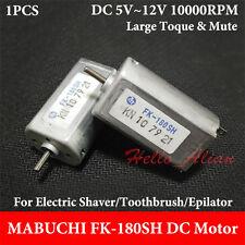 MABUCHI FK-180SH-14180 DC 5V~12V 10000RPM Mini Carbon Brush 180 Motor DIY Parts