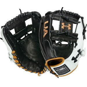 Under Armour Genuine Pro 2.0 Infield Baseball Glove 11.5 inch Black/White/Carame