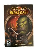 World of Warcraft PC Game MANUAL  ONLY Blizzard Entertainment (E)