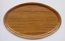 Greece OLYMPIC AIRWAYS Vintage Wooden Serving Tray by Nybro Sweden Free Shipping