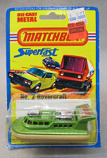 1976 Matchbox #2 HOVERCRAFT RESCUE Superfast factory sealed Mint on card