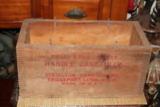 Antique Remington Arms Co. Wood Box Crate-Small Arms Primers-Empty-Bridgeport