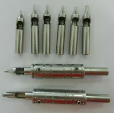 old school tattoo machine tubes tips & grips 1990s