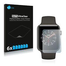 6x Displayschutzfolie Apple Watch Edition Series 3 (38mm) Schutzfolie Klar Folie