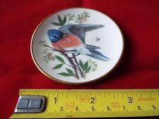 FRANKLIN PORCELAIN SONGBIRDS OF THE WORLD MINI PLATE. #20